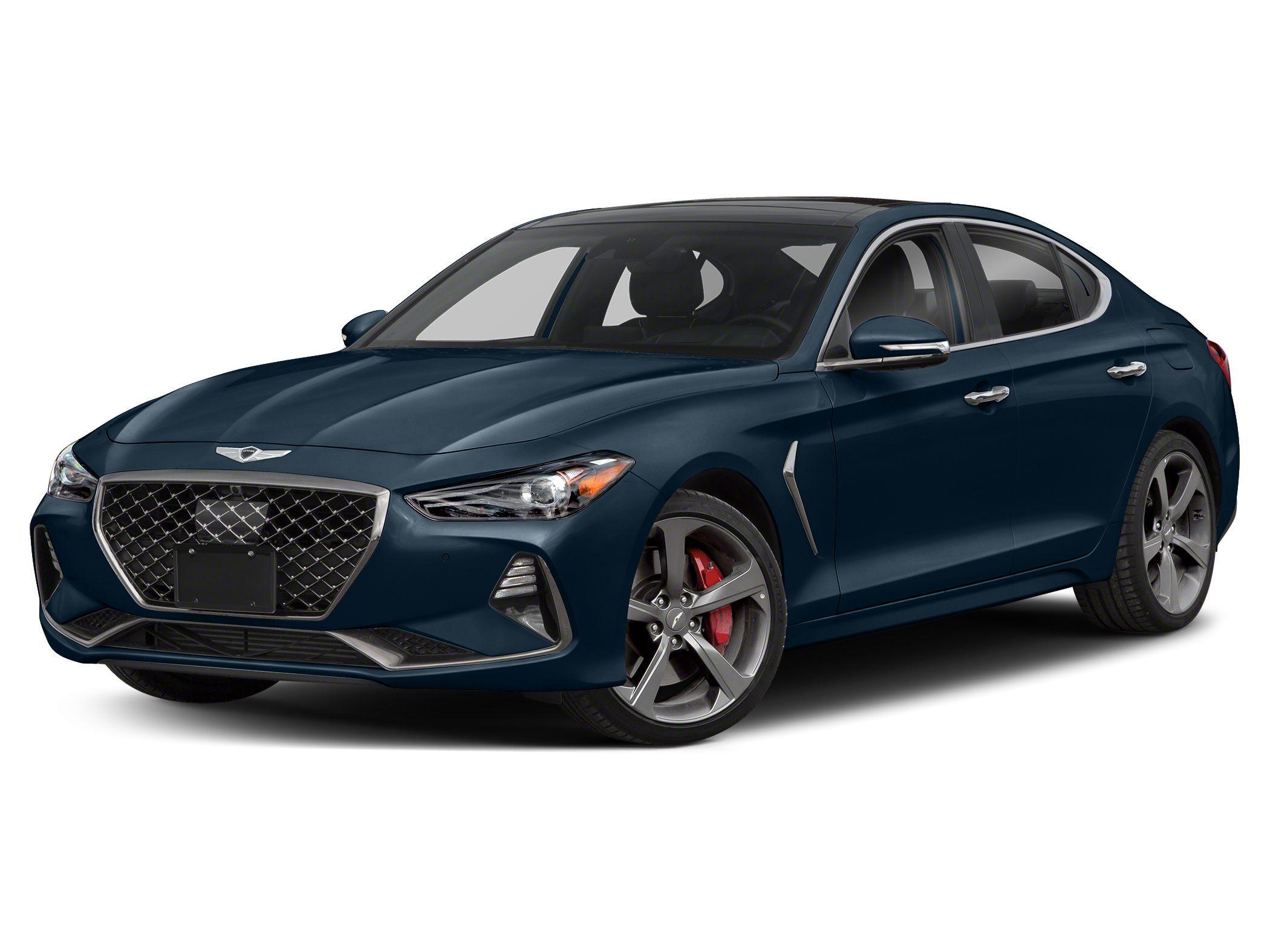 new 2021 Genesis G70 car, priced at $49,900