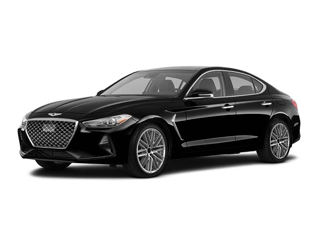 new 2021 Genesis G70 car, priced at $43,575